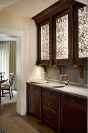 used kitchen glass cabinet doors morgante wilson architects used a custom leaded glass for