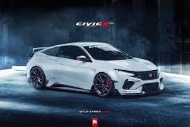 honda civic 2016 type r potential 2016 honda civic coupe type r rendered