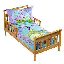 disney princess frog 4 piece toddler bedding