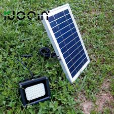 high lumen solar spot lights ruocin sell high lumen 54 pcs led solar flood light for parking