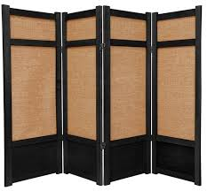 Shoji Screen Room Divider by 4 Ft Tall Low Jute Shoji Screen Contemporary Screens And Room
