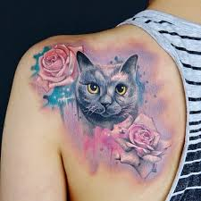 309 best tattoo cat dog images on pinterest creative death