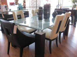 perfect square glass dining table for 8 to in inspiration decorating