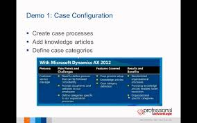 dynamics ax 2012 case management video youtube