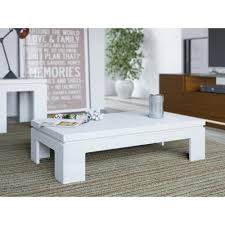 white gloss side table manhattan comfort bridge white gloss coffee table 84652 the home depot