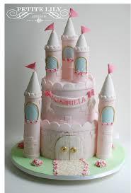 princess castle cake bolo de castelo de princesas decorated