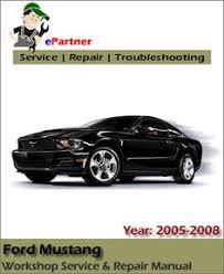 2005 ford mustang repair manual 2005 2006 2007 ford mustang gt 8 5 0 liter v 8 engine workshop