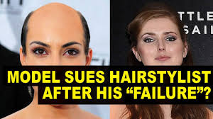 model gets bad haircut sues stylist for 5 million youtube