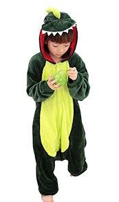 Child Dinosaur Halloween Costume Tonwhar Children U0027s Halloween Costumes Kids Kigurumi Onesie Animal