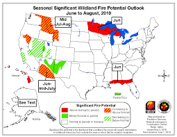 Alaska Wildfires Map by Elevated Wildfire Outlook For Interior Northwest And Alaska