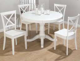 White Dining Furniture Jofran Casper White  Piece Dining Room - Dining room sets white