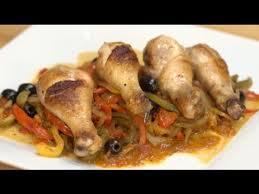 recettes hervé cuisine recette facile de poulet basquaise hervé cuisine petits plats