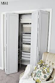 bathroom closet door ideas how to update 1970 s bi fold closet doors closet doors