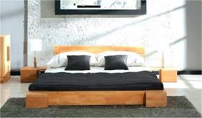 chambre a coucher moderne en bois massif lit contemporain bois lit massif 160a200 lit contemporain oslo lit