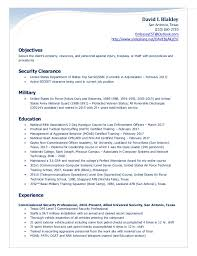 Security Guard Resume Objective Security Guard Resume Entry Level Resume For Your Job