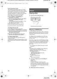 nissan versa usb android mexgs620bt bluetooth audio system user manual mex gs620bt sony