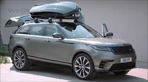 2018 range rover velar interior exterior and drive youtube