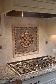 Decorative Tiles For Kitchen Backsplash Kitchen Backsplash - Kitchen medallion backsplash
