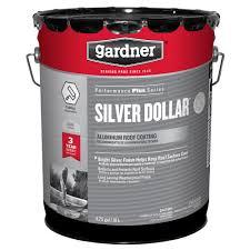 gardner 4 75 gal silver dollar aluminum roof coating 18 pallet