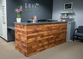 Office Front Desk Office Tour Granite Chiropractic