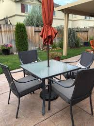 5 Pc Patio Dining Set - gramercy home 5 piece patio dining table set review best patio