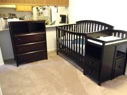 Babi Italia Pinehurst Convertible Crib Dresser Dresser Changer Combo Pinehurst Dresser Changer Combo