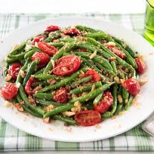cuisiner haricot vert le croquant de haricot vert et tomate toutes les bonnes recettes