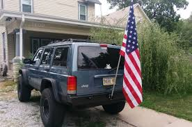 jeep cherokee american flag hereu0027s what i know about flag holder for truck bed trail flag