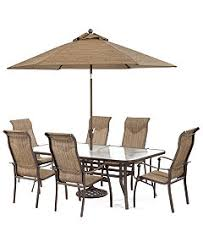 Patio Table And 6 Chairs Oasis Outdoor Dining Collection Created For Macy S Furniture