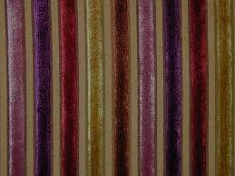Red Drapery Fabric Curtain Fabric Upholstery Fabric Velvet Stripe Gold Red