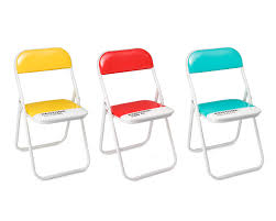 furniture metal cheap folding chairs with black seat and back for