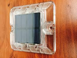 solar led dock lights marine boat rv solar powered led dock light pc cool white 12v ip68