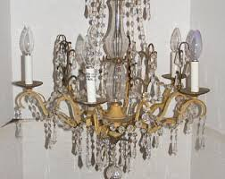 Gothic Chandelier Wrought Iron Vintage Chandelier Lighting Etsy