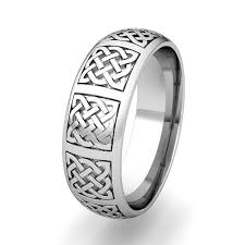 mens celtic wedding bands mens celtic knot wedding band his comfort fit wedding ring