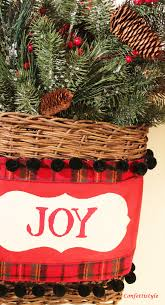 christmas door basket with royal design studios confettistyle