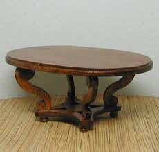 Dining Table Kit Cassidy Creations Miniatures Regency Style Oval Dining Table Kit