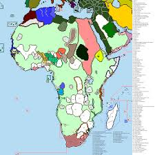 Colonial Map Request Worlda Map With Complete Pre Colonial African Borders