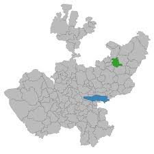 Hermosillo Mexico Map by