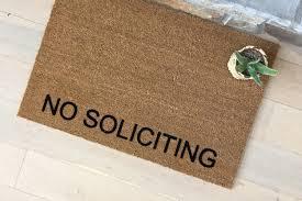 no soliciting no soliciting sign no soliciting door no