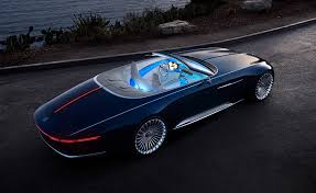concept car of the mercedes maybach vision 6 cabriolet electric super luxury concept