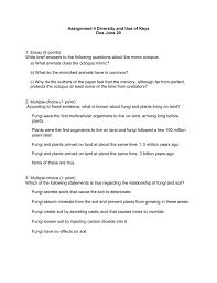 work sheet for assignment 4