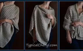 crochet wrap simple crochet wrap free pattern typical cheryl