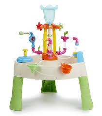 kids water table backyard summer fun little tikes fountain factory