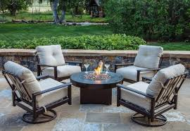 Outdoor Furniture With Fire Pit Table by Patio Furniture Fire Pit Table Set Fire Pit Ideas