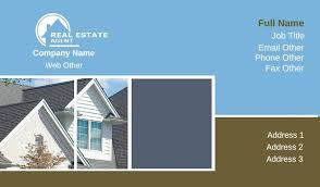 Realtor Business Card Template Business Card Templates Real Estate