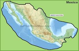 Mexico Political Map by Mexico Maps Maps Of United Mexican States