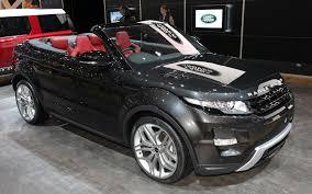 land rover range rover evoque 4 door range rover evoque convertible production likely truck trend news