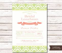 bridesmaids luncheon invitations bridal shower invitation bridal luncheon invitations bridesmaids