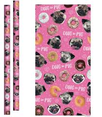pug wrapping paper social media dog doug the pug inks licensee deals in variety of
