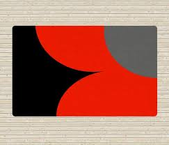 Discount Area Rugs 5x8 Black And Red Rug Accent Rugs Affordable Area Rugs Dorm Rugs